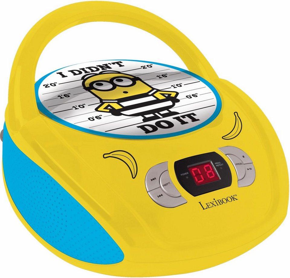 Lexibook Radio CD-Player,  Minions  online kaufen