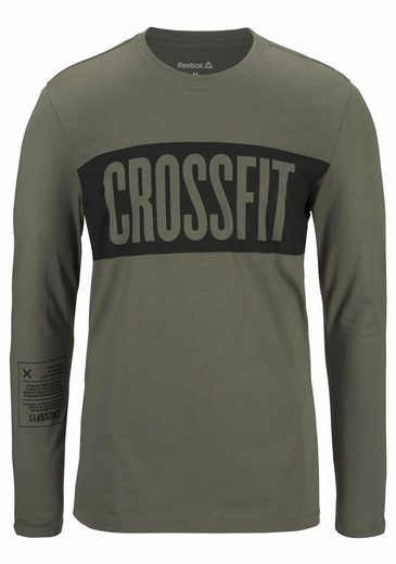 Reebok T-Shirt CROSSFIT STRIPES LONGSLEEVE TEE