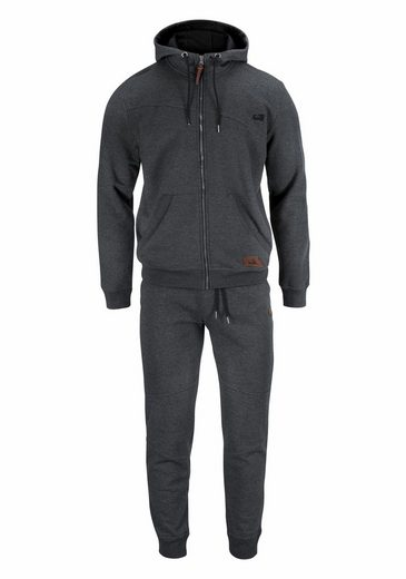 Ocean Sportswear Jogginganzug, Innen weich angeraut
