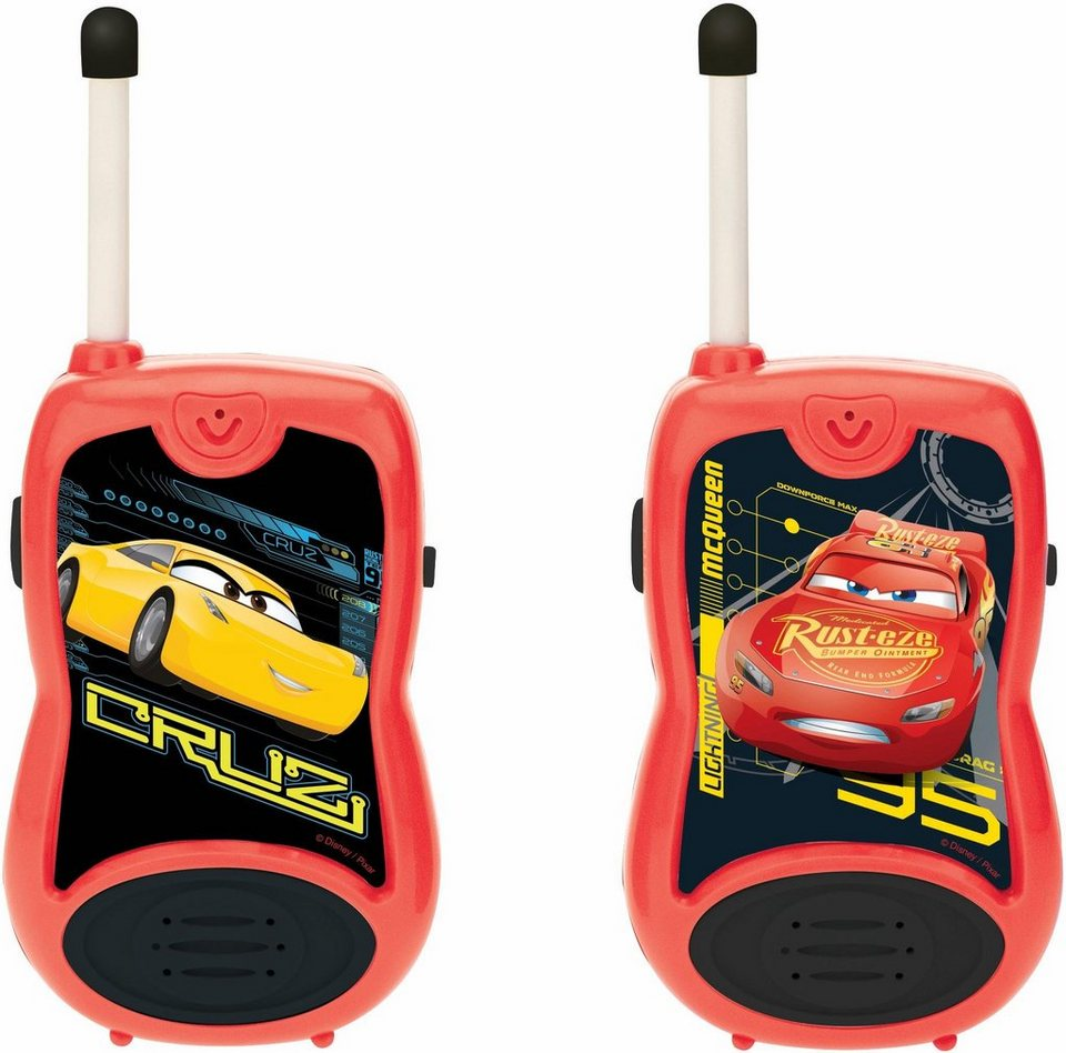 lexibook 2 funkger te walkie talkies disney pixar cars. Black Bedroom Furniture Sets. Home Design Ideas