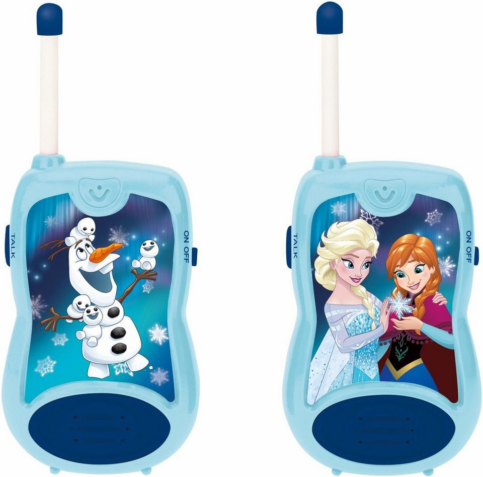 lexibook 2 funkger te walkie talkies disney frozen. Black Bedroom Furniture Sets. Home Design Ideas