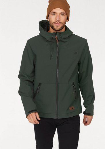 Ocean Sportswear Softshelljacke, Kuschelige Fleece-Innenseite