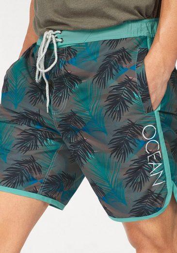 Ocean Sportswear Boardshorts, Innenslip aus Mesh