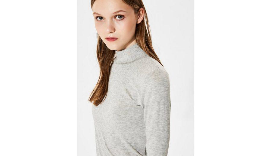 Selected Femme Stehkragen - T-Shirt mit langen Ärmeln Spielraum Beruf 3XJFC7