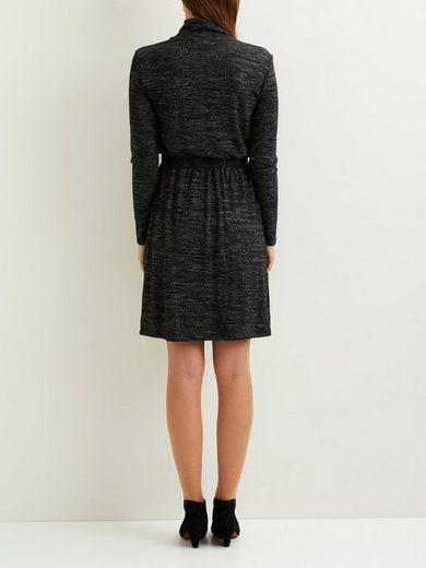 OBJECT Stehkragen- Kleid