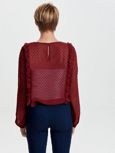 Only Highly Detailed Bodice With Long Sleeves