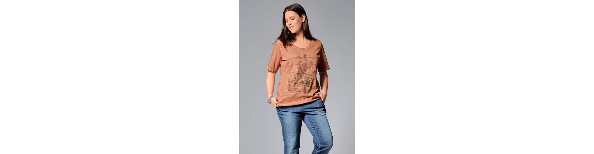 Modestil Preiswert Günstiger Preis Janet und Joyce by Happy Size Shirt oil wash Kaufen Billig Authentisch Günstiger Preis WZco2