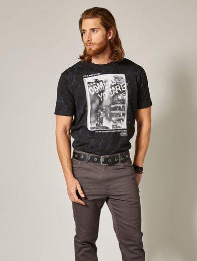 Men Plus by Happy Size T-Shirt mit Applikation