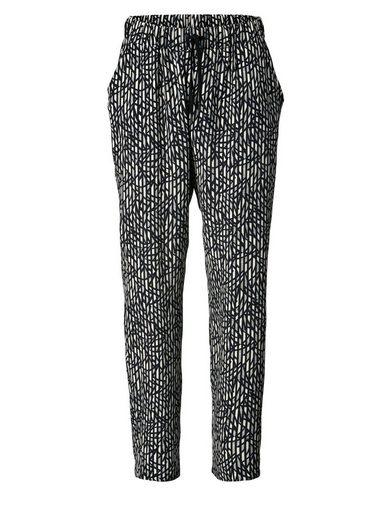 Sara Lindholm by Happy Size Jogpants mit Allover-Print