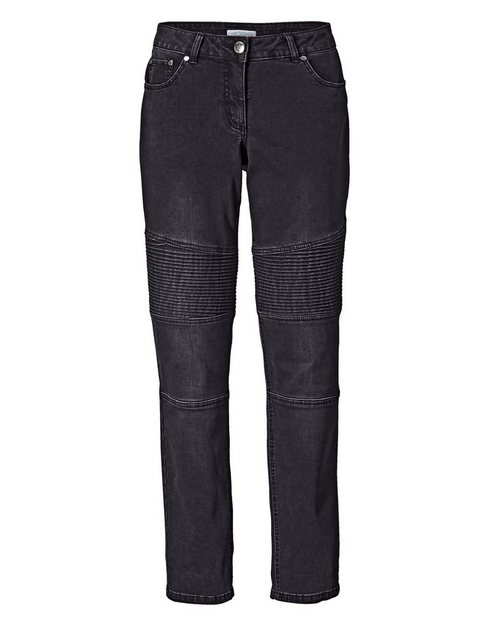 Hosen - Angel of Style by Happy Size Slim Fit Jeans › schwarz  - Onlineshop OTTO