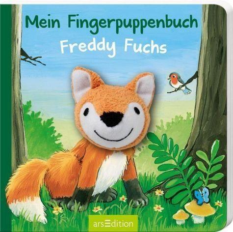 Buch mit Papp-Einband »Mein Fingerpuppenbuch - Freddy Fuchs«