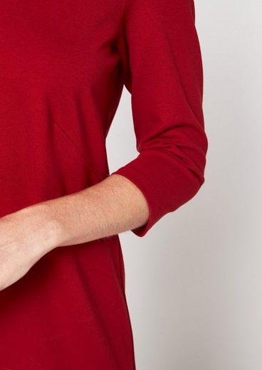 COMMA Longshirt mit 3/4-Ärmeln