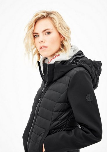S.oliver Red Label Daunenjacke Im Fabric-mix