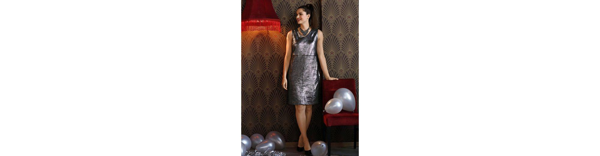 Online-Suche Zu Verkaufen Freies Verschiffen Finish Sara Lindholm by Happy Size Lederimitat-Kleid in Etuiform Billig Besuch Neu Il8nb3P