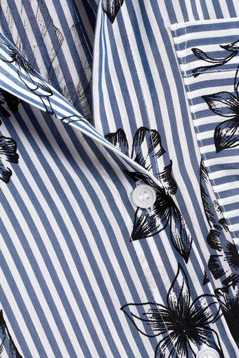 Next Hemd mit Streifen-Print
