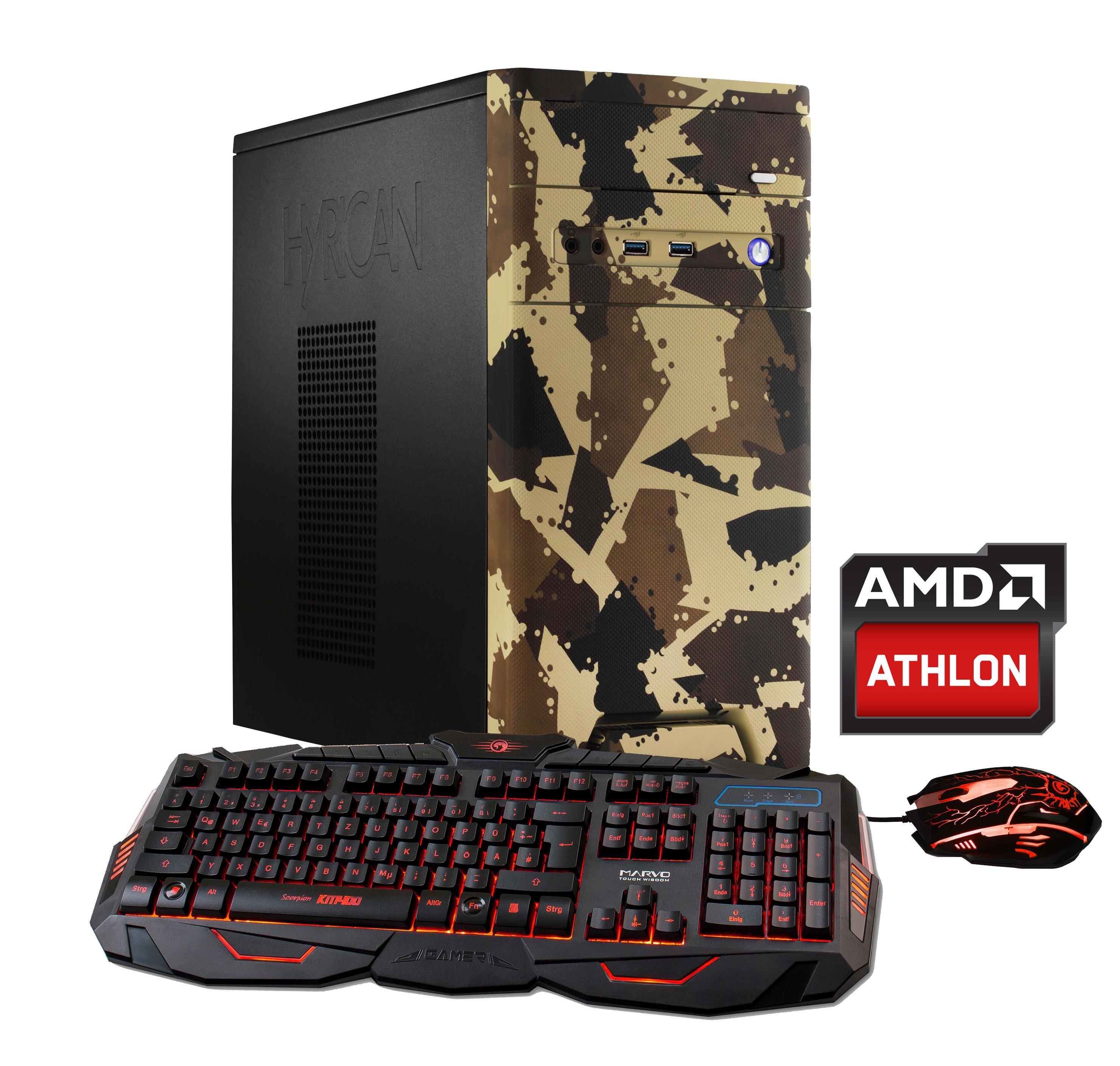 Hyrican CyberGamer Athlon X4 950 8GB RAM 120GB 1TB GeForce® GTX 1050Ti »Cyber Gamer 5709«