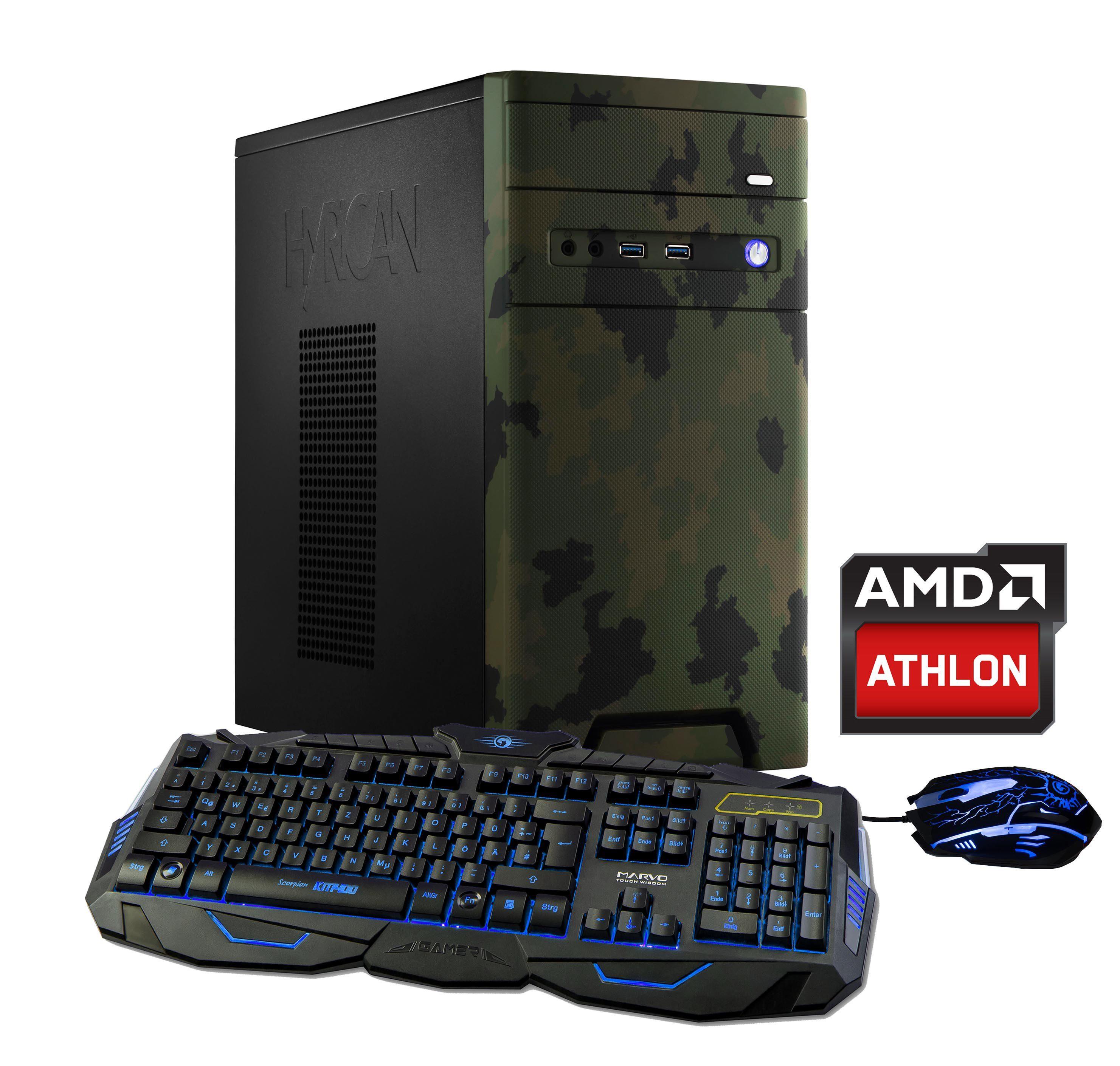 HYRICAN CyberGamer Athlon X4 950 16GB 120GB 1TB GeForce® GTX 1050Ti »Cyber Gamer 5714«