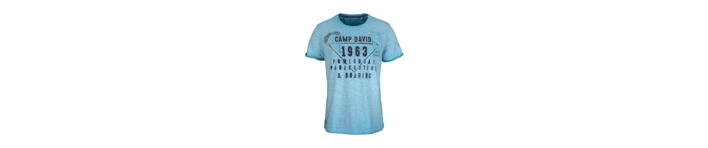 CAMP DAVID T-Shirt Freies Verschiffen Großer Verkauf Billig Zahlung Mit Visa Günstig Kaufen Freies Verschiffen Outlet Rabatte Billig Verkauf Finden Große Itplcuba