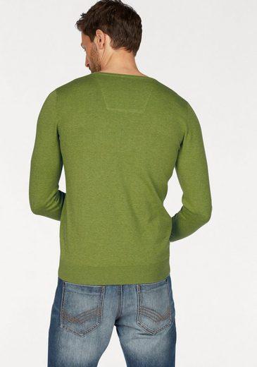 Tom Tailor V-Ausschnitt-Pullover