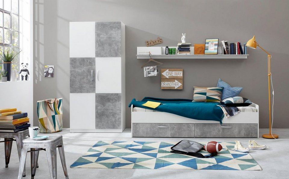 Jugendzimmer set 3 tlg canaria online kaufen otto for Jugendzimmer komplettset