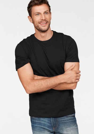 TOM TAILOR T-Shirt (Packung, 2er-Pack) perfektes Basic