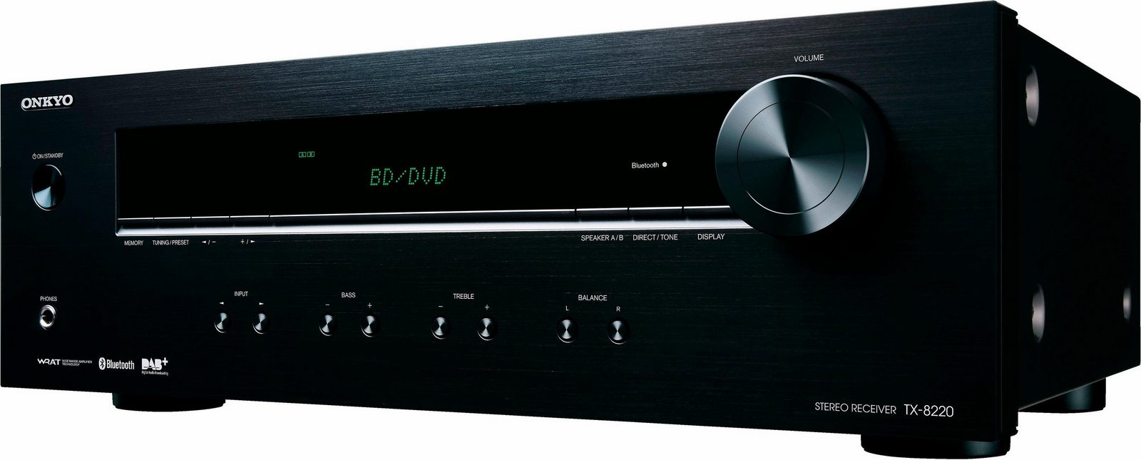 Onkyo TX-8220 2-Kanal Audio-Receiver mit Bluetooth