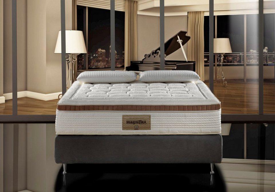 visco kaltschaummatratze armonia magnigel dual 10 magniflex 25 cm hoch raumgewicht 32. Black Bedroom Furniture Sets. Home Design Ideas