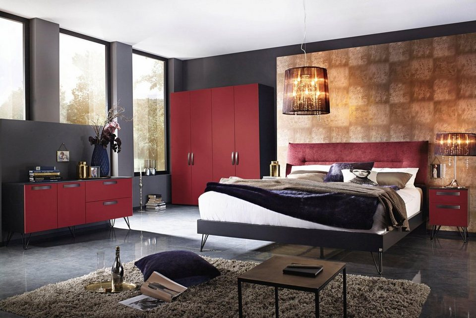 inosign futonbett mit gepolstertem kopfteil made in germany online kaufen otto. Black Bedroom Furniture Sets. Home Design Ideas