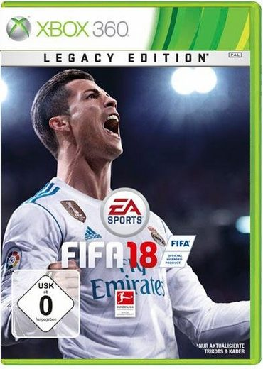fifa 18 legacy edition xbox 360 online kaufen otto. Black Bedroom Furniture Sets. Home Design Ideas