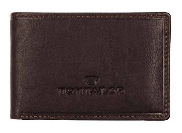 TOM TAILOR Mini Geldbörse »LARY«, aus Leder im extra keinen Format | Accessoires > Portemonnaies > Mini Geldbörsen | Tom Tailor