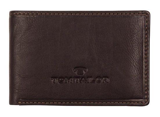 TOM TAILOR Mini Geldbörse »LARY«, aus Leder im extra keinen Format