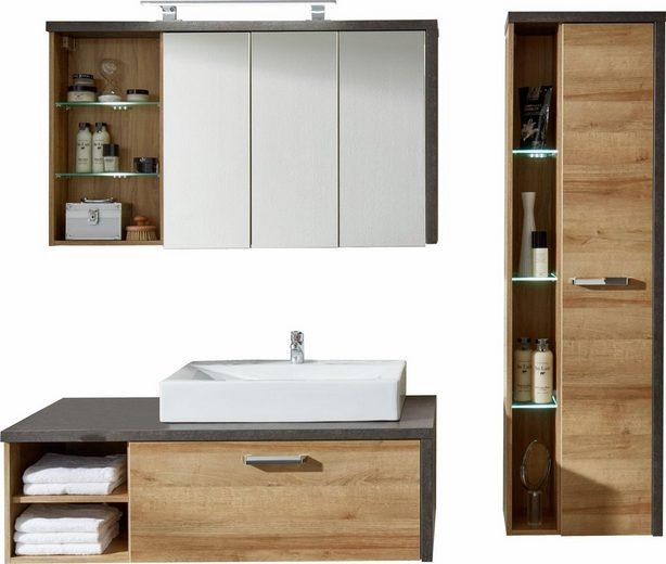 trendteam badm bel set bay 4 tlg mit anschlagd mpfern. Black Bedroom Furniture Sets. Home Design Ideas