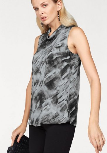 Claire Woman Longtop, Mit Allover-print