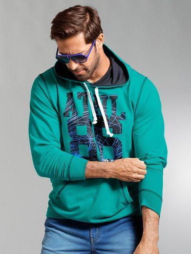 Hommes Plus Par Sweat-shirt De Bonne Taille Avec Capuche