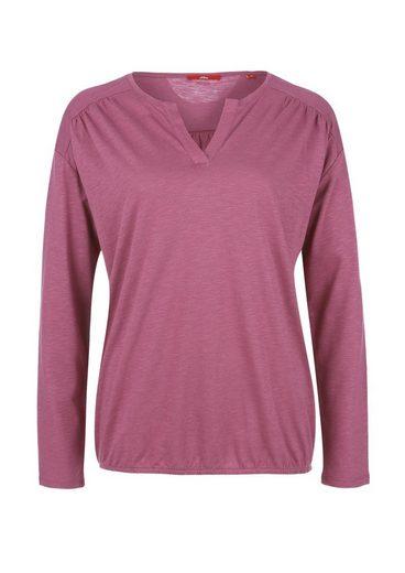 S.oliver Red Label Meliertes O-shape-shirt