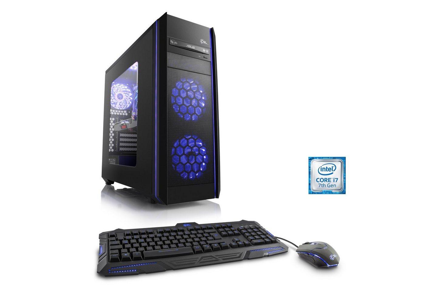 CSL Gaming PC   Core i7-7700   GTX 1060   16 GB DDR4 RAM   SSD »Speed T7567 Gamescom Edition« - Preisvergleich