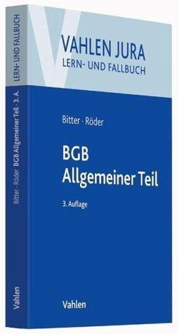 Broschiertes Buch »BGB Allgemeiner Teil«