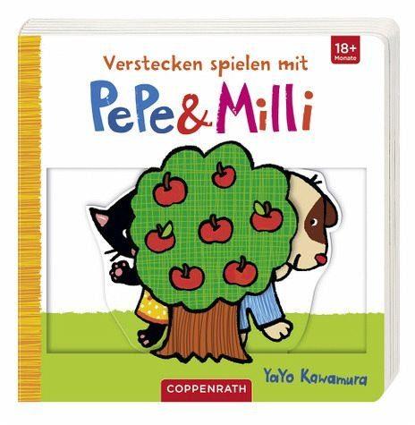Buch mit Papp-Einband »Verstecken spielen mit PePe & Milli«