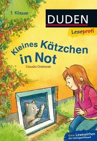 Gebundenes Buch »Leseprofi - Kleines Kätzchen in Not, 1. Klasse«