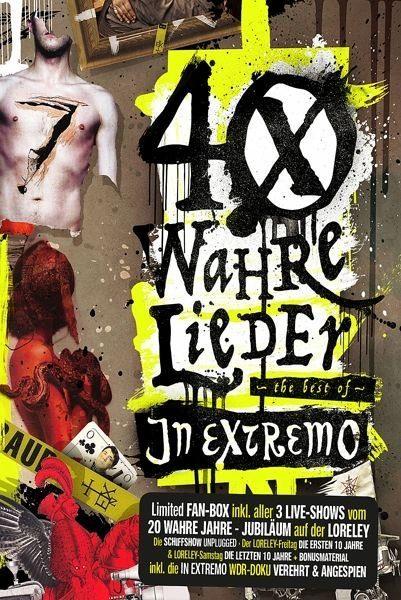 CD+DVD »In Extremo: 40 Wahre Lieder-LTD Loreley-Fanbox...«