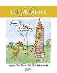 Kalender »Der Widder 2018. Sternzeichen-Cartoonkalender«