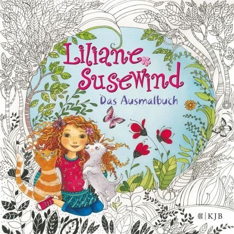 Broschiertes Buch »Liliane Susewind - Das Ausmalbuch«