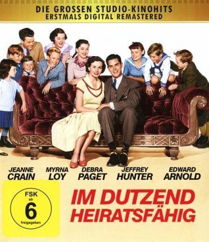 Blu-ray »Im Dutzend heiratsfähig - Fox Grosse...«