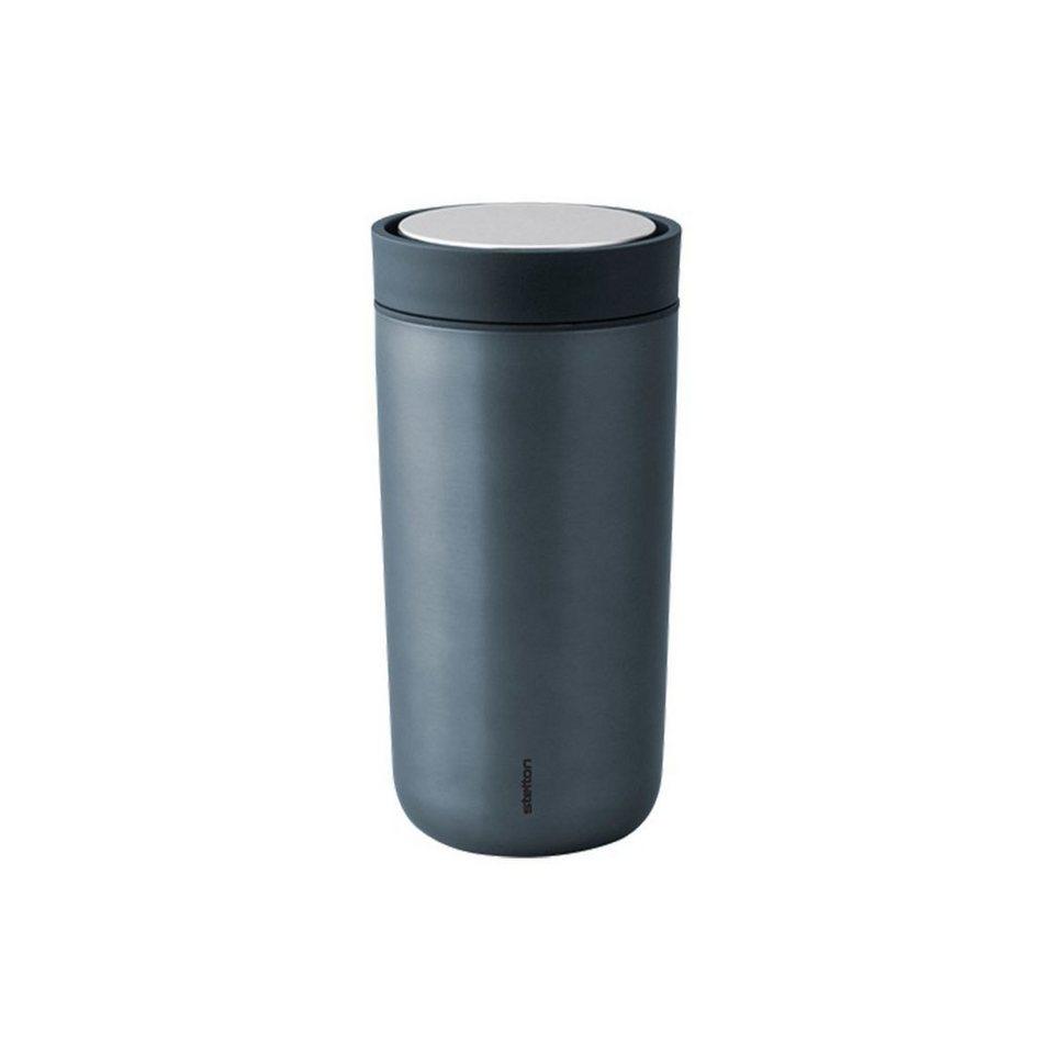 stelton stelton trinkbecher to go click l metallic. Black Bedroom Furniture Sets. Home Design Ideas