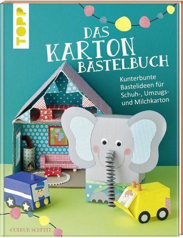 Gebundenes Buch »Das Karton-Bastelbuch«
