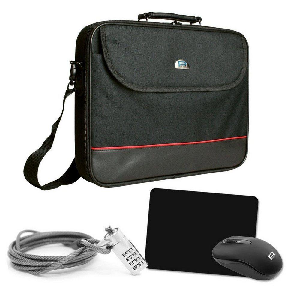 pedea pc zubeh r notebook tasche starter kit 39 6cm 15 6 zoll online kaufen otto. Black Bedroom Furniture Sets. Home Design Ideas