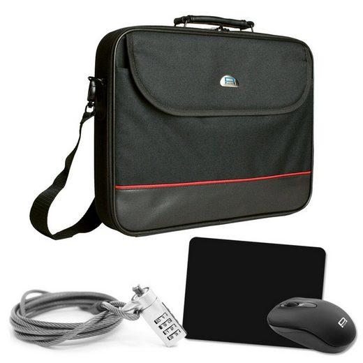PEDEA PC-Zubehör »Notebook-Tasche Starter Kit 39,6cm (15,6 Zoll)«