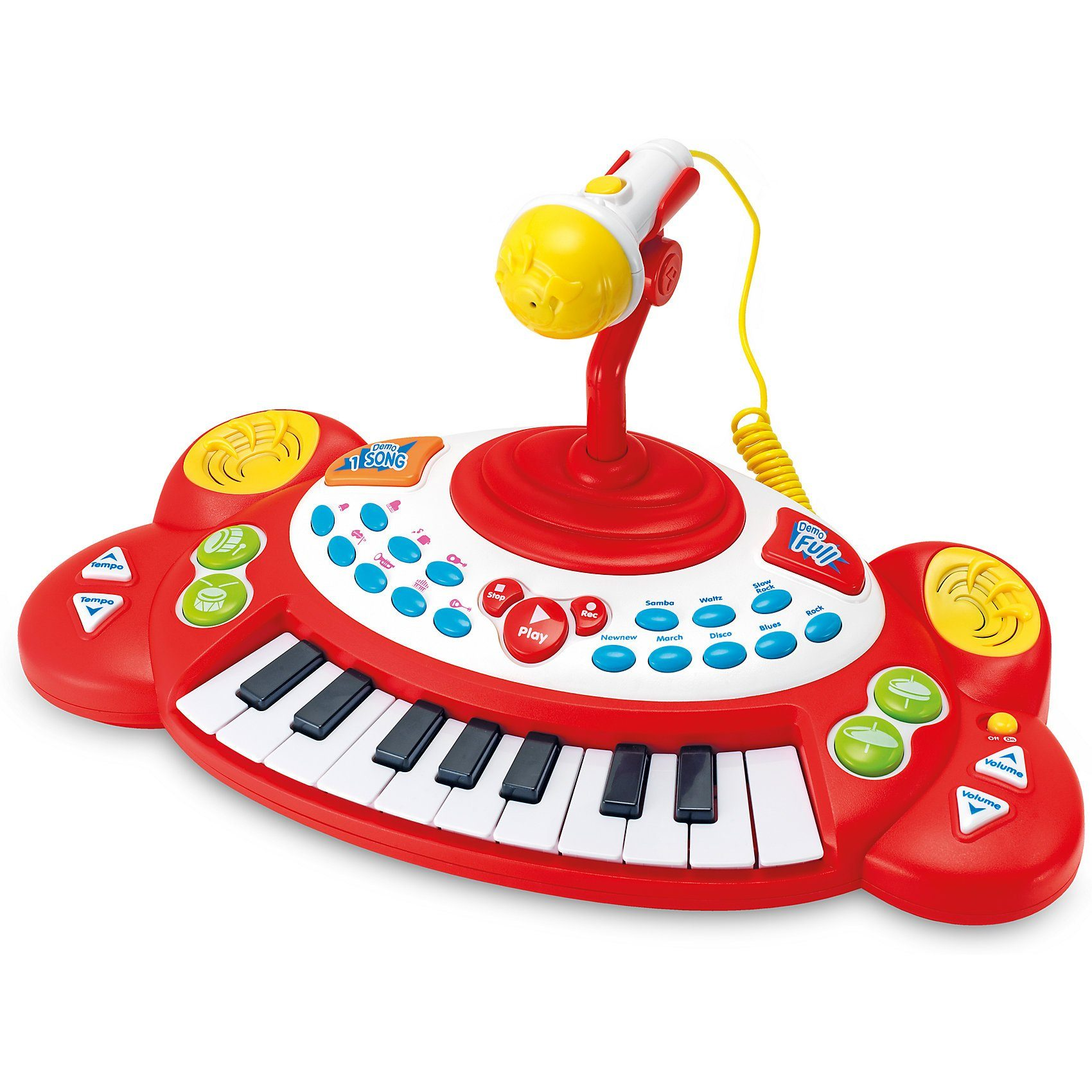 WINFUN Super Star: Keyboard mit Mikrofon