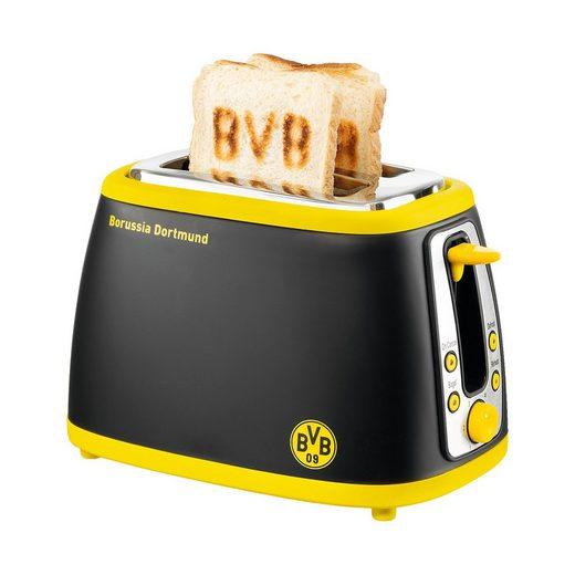 Toaster BVB, mit Sound, schwarz