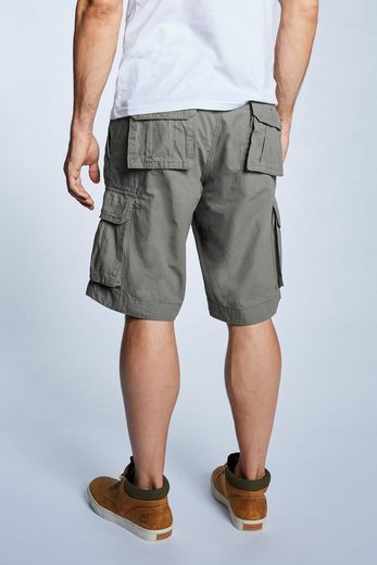 OKLAHOMA Jeans Canvas Bermuda A707-KHK